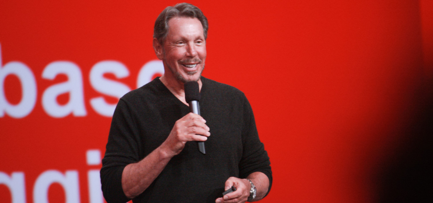 Larry Ellison no dejará atrás a Oracle