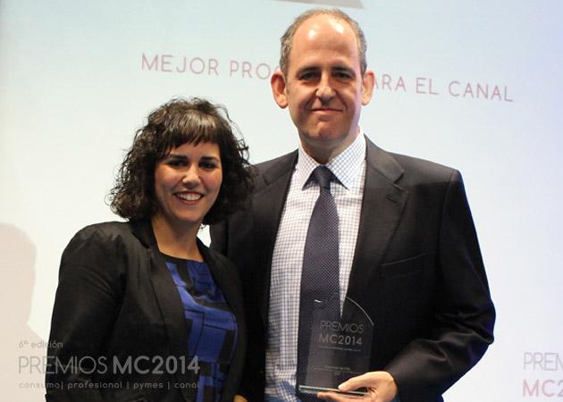 Ignacio Sestafe, director general de GTI y Verónica Cabezudo, coordinadora editorial de MuyCanal