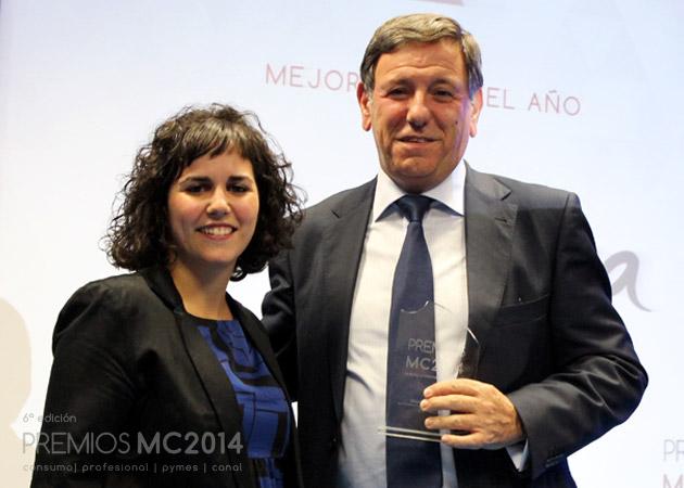 Carlos Delgado, director Comercial de Ibermática y Verónica Cabezudo, coordinadora editorial de MuyCanal